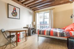 Studio in the heart of Paris /le Ma, gay Paris - Bed & Breakfast to rent in…