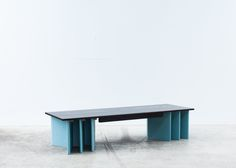 Six Fold is a minimal bench created by Australia-based designer Elliot Bastianon. Six Fold is a bench seat that uses six individual sheets of EchoPanel® to function as an underframe, turning a non-structural material into a supportive element