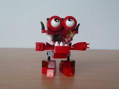 LEGO MIXELS BURNARD LEGO 41532 instructions video Infernites tribe Mixels Serie 4