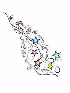 star tattoos - Google Search