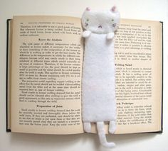 Cat bookmark!
