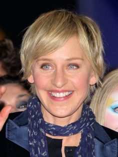 Ellen Lee DeGeneres ( /dɨˈdʒɛnərəs/; born January 26, 1958) is an American stand-up comedian, television host and actress. She hosts the syndicated talk show The Ellen DeGeneres Show. She's just plain funny, and finds humor in everyday things