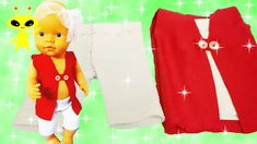 DIY Create 👖👚 Baby Doll Clothes Cute Easy Tutorial Baby Doll Clothes, Diy Clothes, Baby Dolls, Diy Tutu, Baby Born, Diy Bed, Easy Crafts For Kids, Diy Dress, Diy Doll
