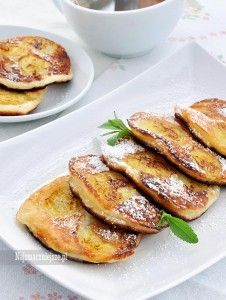 Placki jogurtowo-bananowe Baby Food Recipes, Dessert Recipes, Cooking Recipes, Healthy Recipes, No Cook Appetizers, Childrens Meals, Dinner Dishes, Crepes, Food Inspiration