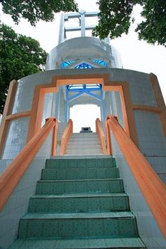 Statue of Nol Kilometer (0km) at Sabang, Aceh, here is where Indonesia officially starts