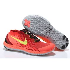 best service 77177 2a9e0 Where To Buy Nike Free 3 Flyknit, Mens Original Nike Free Flyknit 2018  University Red Bright Crimson Volt Black 718418 006