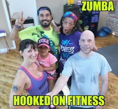 What do you get when 2 of Philly's best #Zumba instructors get together with one of the area's top personal trainers and a bald guy? A #Zumbatastic party at the #HookedOnFitness Studio! If you missed it come on up any Wednesday night at 7pm with Lynette or Saturday morning at 9am with Hector!  #GroupFitness #PhillyPersonalTrainer #FitFam #BestInPhilly #BestInPhillyJustGotBetter Another shot from #HookedOnFitness