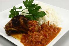 Kylling med tomatflødesovs 4