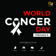 Cancer Takes More Lives than Any Other Disease. Let's Stand Up for a Healthier Tomorrow. #worldcancerday #cancerday #worldcancer World Cancer Day, Heart And Lungs, Branding Services, Stand Up, Let It Be, Life, Get Back Up