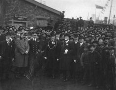 King George VI visits South Shields