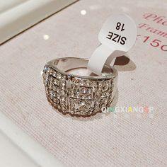 包邮爆款热卖潮女韩版时尚潮人夸张人造水晶玫瑰金复古女戒指食指