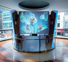 #Agglomerates: TC 2400 (#Trend Q 431) #Nintendo World #Store - New York City ∙ USA Nintendo Store, New York City, Flat Screen, Shops, Usa, Shopping, Ideas, Blood Plasma, Tents