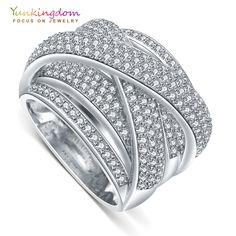 Buy now for Xmas. Yunkingdom 2017 new fine rings for women luxury wedding party jewelry rings M0379 * Find out more on  AliExpress.com. Just click the VISIT button. #FineJewelry