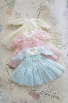 Sterne ein Stück Blythe Kleid Stern Muster Kleid von TeaForParty