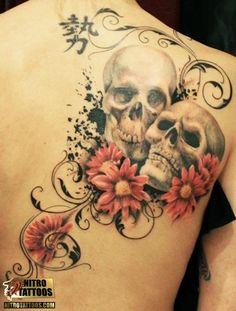 best skull tattoos