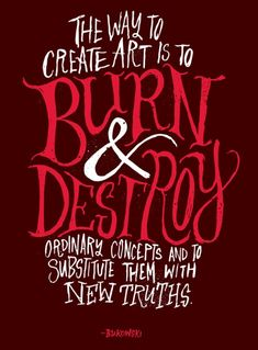 typography art quotes - Google Search