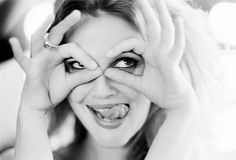 drew barrymore. be silly. laugh often