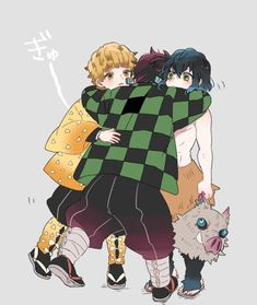 Mar 2020 - Read Tanjirou x Zenitsu x Inosuke from the story Demon Slayer Ships by Callaraw (【ï Manga Anime, Anime Demon, Anime Art, Otaku, Anime Lindo, Natsume Yuujinchou, Dragon Slayer, Fandoms, Slayer Anime
