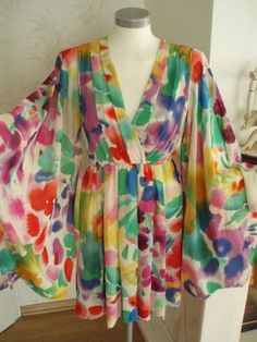 H GARDEN Collection Kimono Floral Dress    gorgeous!