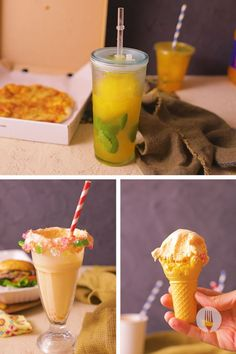 All South Africans love Oros... So, we show you how to make the most out of this famous local orange squash! Just in time for warmer weather, whip up no-churn ice cream, no-blend slushies, and decadent milkshakes (or more like freakshakes, right?) 3 Ingredients, Smoothies, Cereal, Sweet Treats, Cooking Recipes, Breakfast, Cake, Food, Smoothie