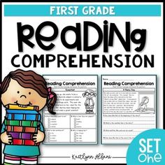 This resource is a more advanced version of my Kindergarten Reading Passages - geared for first grade / early second grade. Please look at the preview images to determine if this set will fit the needs of your students. This packet is set up in two sections that gradually increase in difficulty. 2, passages = title, reading passage, picture, 4 multiple choice questions 2, passages = title, reading passage, picture, 4 write-in questions You can find a beginner...