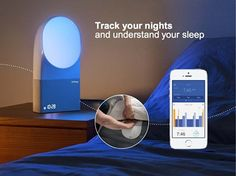 Amazon.com: $299.99 Aura Smart Sleep System: Want to get more from your sleep? This is a must have. Live well! The Aura sleep-tracking system monitors and improves your sleep quality by waking you up at the best time in your sleep cycle with dedicated light and music programs. The device works with Spotify and over 10,000 web radio stations. After you set it up under the mattress, you can track your sleep on your smartphone (though only on iOS devices so far).
