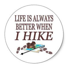 Life is always better when I hike. If I can't get out onto a trail, at least I can be plotting my next hike. Hiking Meme, Hiking Quotes, Camping And Hiking, Backpacking Light, Bike Trails, Hiking Trails, Biking, Hiking Places, Mountain Hiking