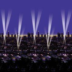 Hollywood Skyline Scene Setter
