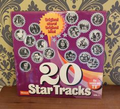 Vintage 20 Star Tracks, very retro, Collectable. by bespokebydionne on Etsy
