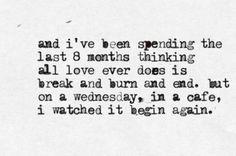 Begin Again| Taylor Swift