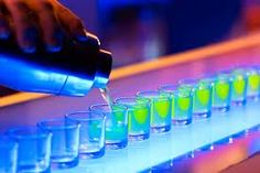 Want to add a little fun to your drink selection? Try these fun shots for bachelorette parties for some delish and creative shooters and shots! Cocktail Images, Cocktail Pictures, Bartenders Guide, Bar Spoon, Hooch, Pub Crawl, Fun Shots, Jello Shots, Can Lights