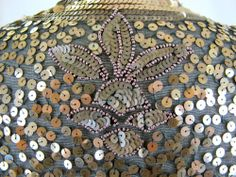 1930s Gold sequin jacket,  Tova's Vintage Shop