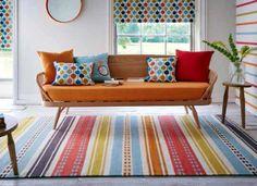 Scion   Rivi 26905 Citrus. Colorful Living RoomsModern FabricModern RugsLiving  Room ...