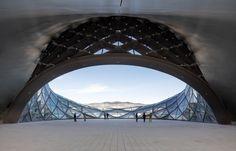 Gletscherlandschaft - Opernhaus von MAD Architects in Harbin