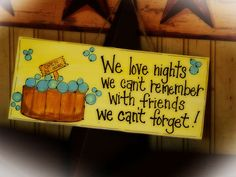 Hot Tub Friends Sign Memories Spa HOTTUB by CountryCraftHeavenSt, $10.00