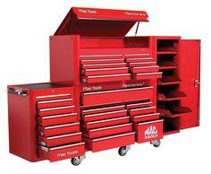 Tool Box Diy, Tool Box Storage, Garage Storage, Garage Workshop Organization, Welding Shop, Milwaukee Tools, Garage Design, Car Shop, Shop Plans