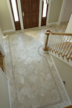 Tile Patterns For Entryways Foyer Design Flooring Living Room