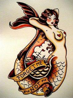 Classic sailor siren