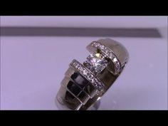 Закрепка камней Stone setting (КОЛЬЦО) - YouTube