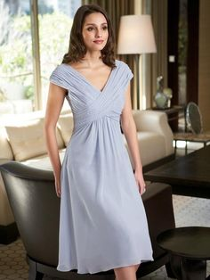 bridesmaid dress  comes in lots of colors   flattering on any figure