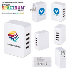 Mountain View 4-Port USB Wall Charger - $14.00/each