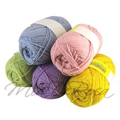 New Pure Wool in Pastel - MiaDeRoca Himmelblau, Wool Yarn, Super, Coin Purse, Diy Crafts, Pure Products, Purses, Pink, Lilac