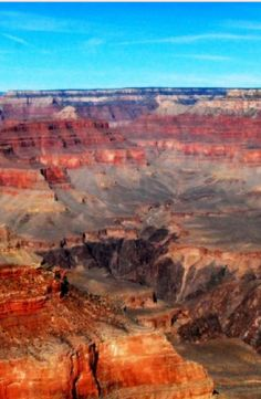The beautiful colors of the Grand Canyon