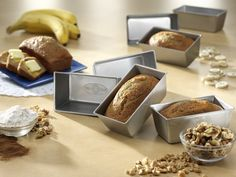 USA Pan bakeware set for the creative and cunning baker.