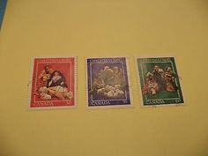 1982 Canada Christmas Stamp (Full-set), Sc# 973-975 - Used