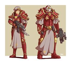 Order of Solar Vigil Battle-Sisters by Blazbaros on DeviantArt