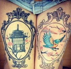 Leg Tattoos (16)