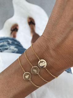 simple gold bracelets