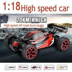 1:18 Electric RC Cars Remote Control Toys High Speed Radio control Speed car Model Toys with Rechargeable Battery VS WL A959