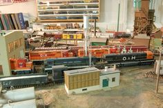 """Railroad Line Forums - The Gallery: Mar. """"Towers: Water, Coal & More"""" Ho Scale Train Layout, Ho Scale Trains, Model Train Layouts, Model Trains, Towers, Gallery, Water, Gripe Water, Tours"""